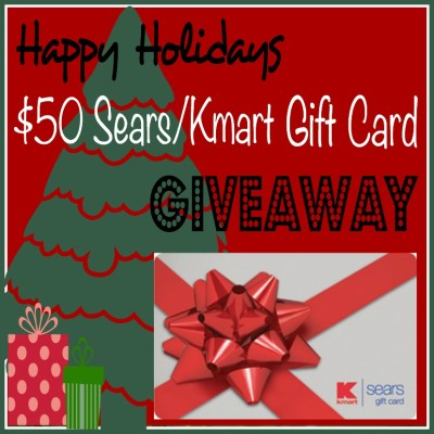 $50 Sears/Kmart Gift Card Giveaway