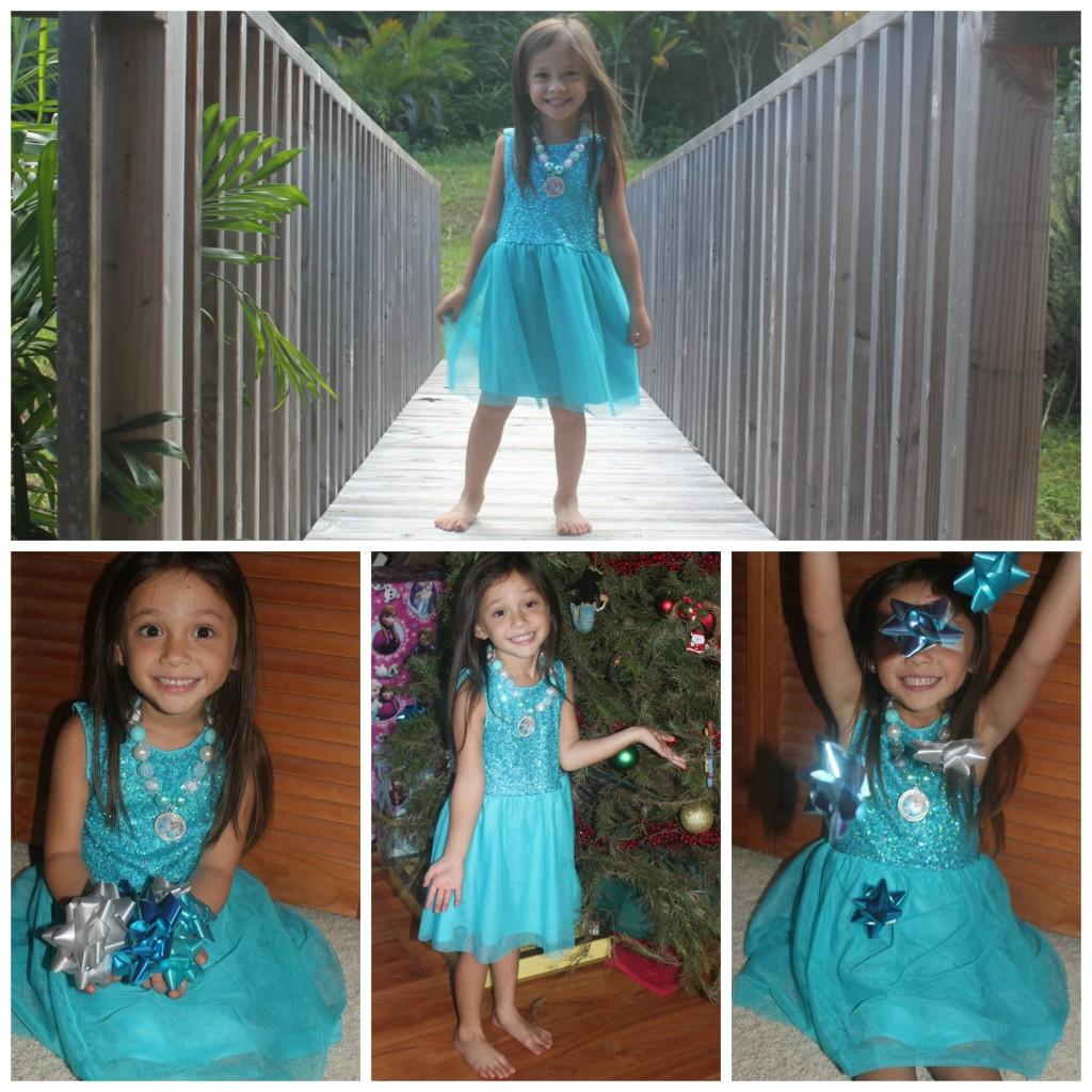 FabKids November sparkly blue dress