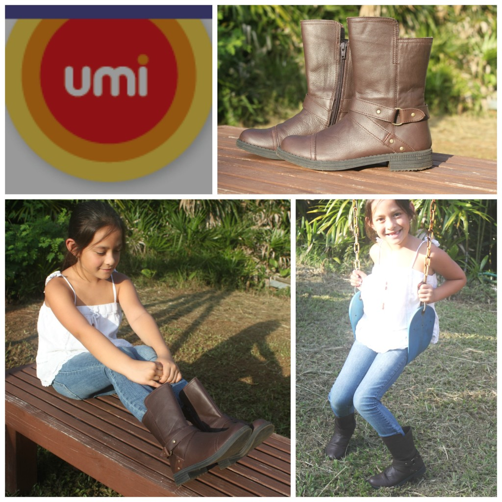 Umi Shoes Chiara II Brown Leather Girls Boots