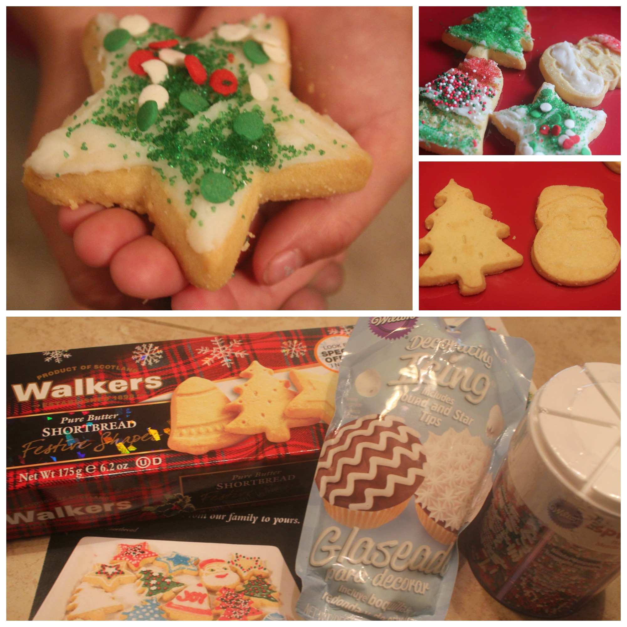 Christmas Cookie Creations With Walkers Shortbread Cookies Livin