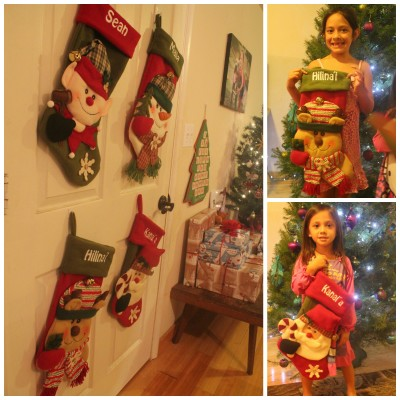 Personalized Christmas Stockings for the Family from Personal Creations