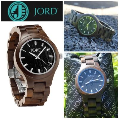 Fieldcrest Wood Watch by JORD