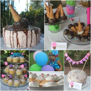 Ice Cream Birthday Party Cake Desserts