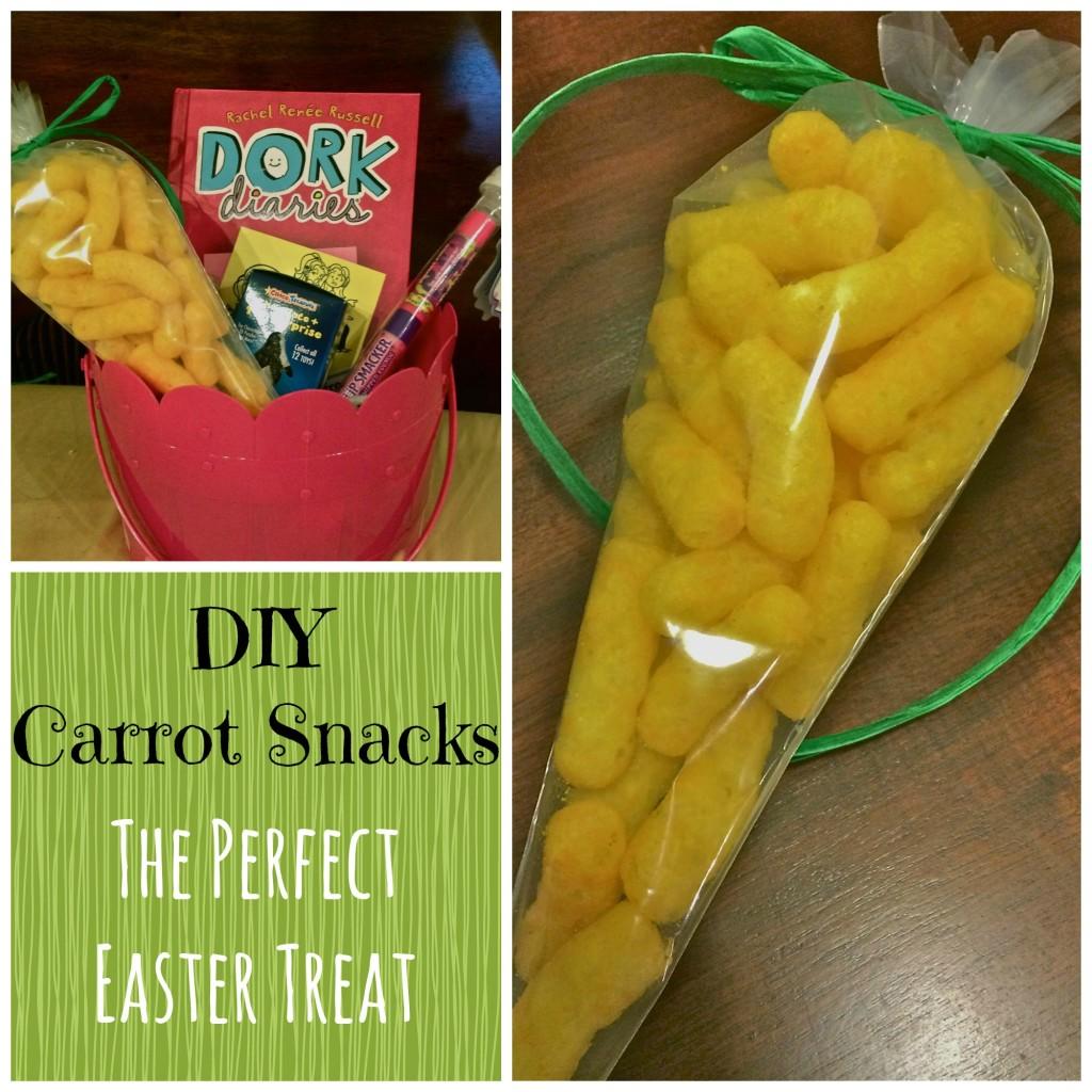 Carrot Shaped Bag easter Treats