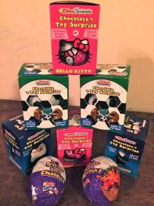 Choco Treasure Surprise Eggs Collection