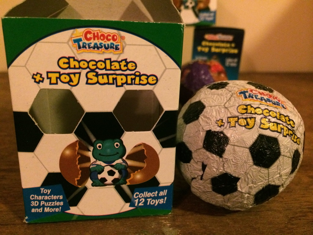Choco Treasure Sports Soccer Ball