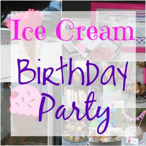 Ice Cream theme Birthday Party Ideas
