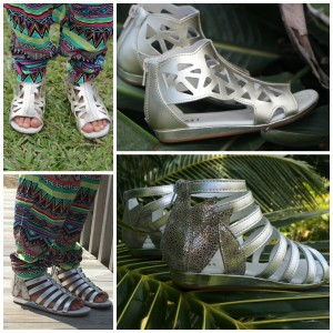 Umi girls Gladiator Sandals Rena Rozelle
