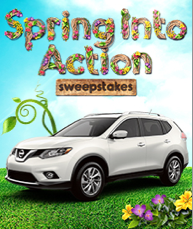 Spring In To Action Sweepstakes – WIN a Nissan Rouge SL + More!