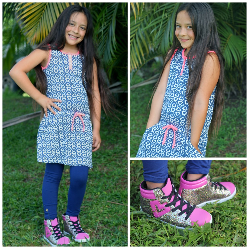 FabKids high tops and dress