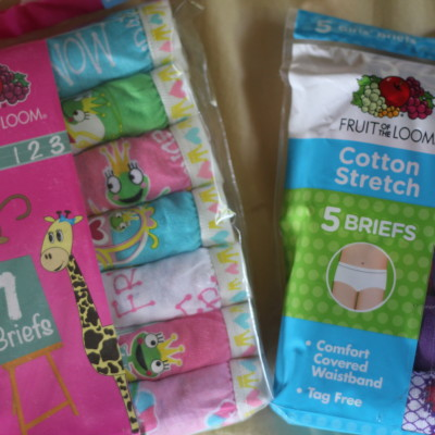 Girls Underwear from Fruit Of The Loom