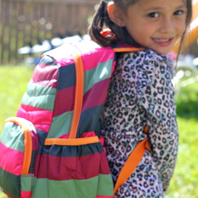 Head off to School with a Lassig Mini Quilted Backpack