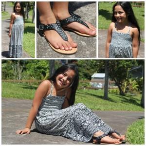 girls tribal maxi dress fabkids