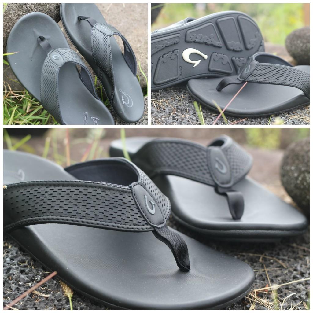 OluKai Kekoa Water resistant sandals flip-flops slippers