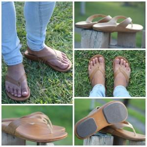 OluKai Wana Sahara Flip-Flop Slippers Sandals