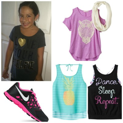 Online Shopping With Kids at Kohls – Back-To-School Styles