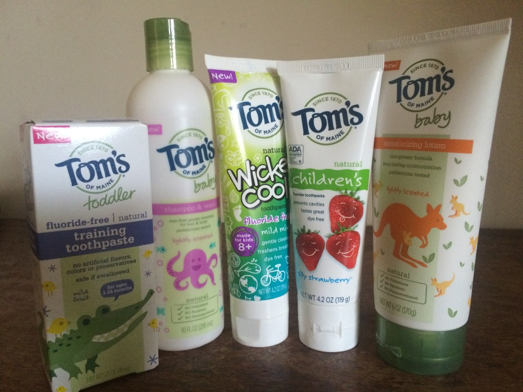 Tom's of Maine Kids natural products