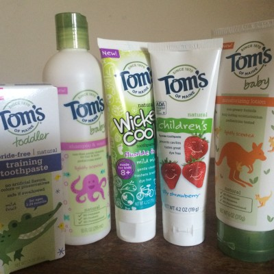 Natural Products for Kids from Tom's Of Maine