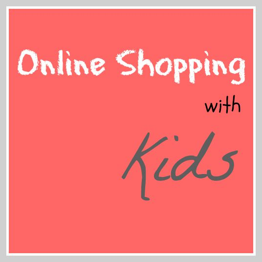 Online Shopping With Kids