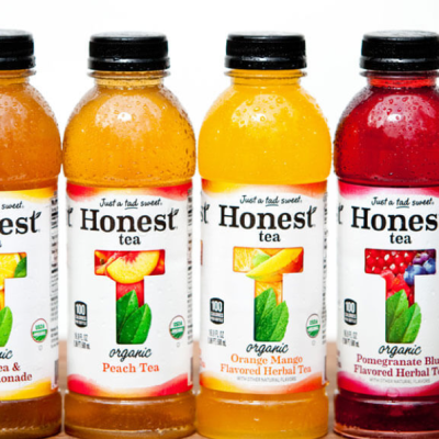 Refreshing Organic Beverages from Honest Tea