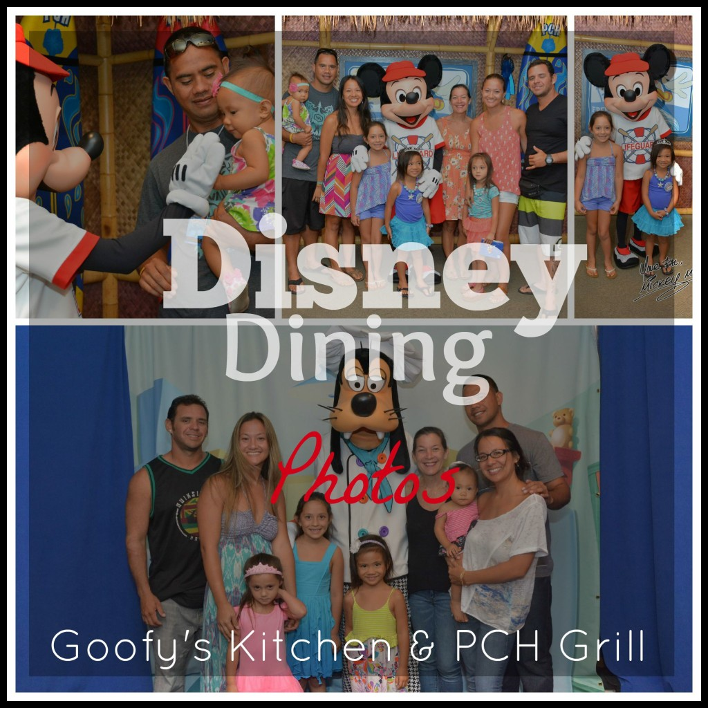 Disney Dining PCH Grill & Goofy's Kitchen photos