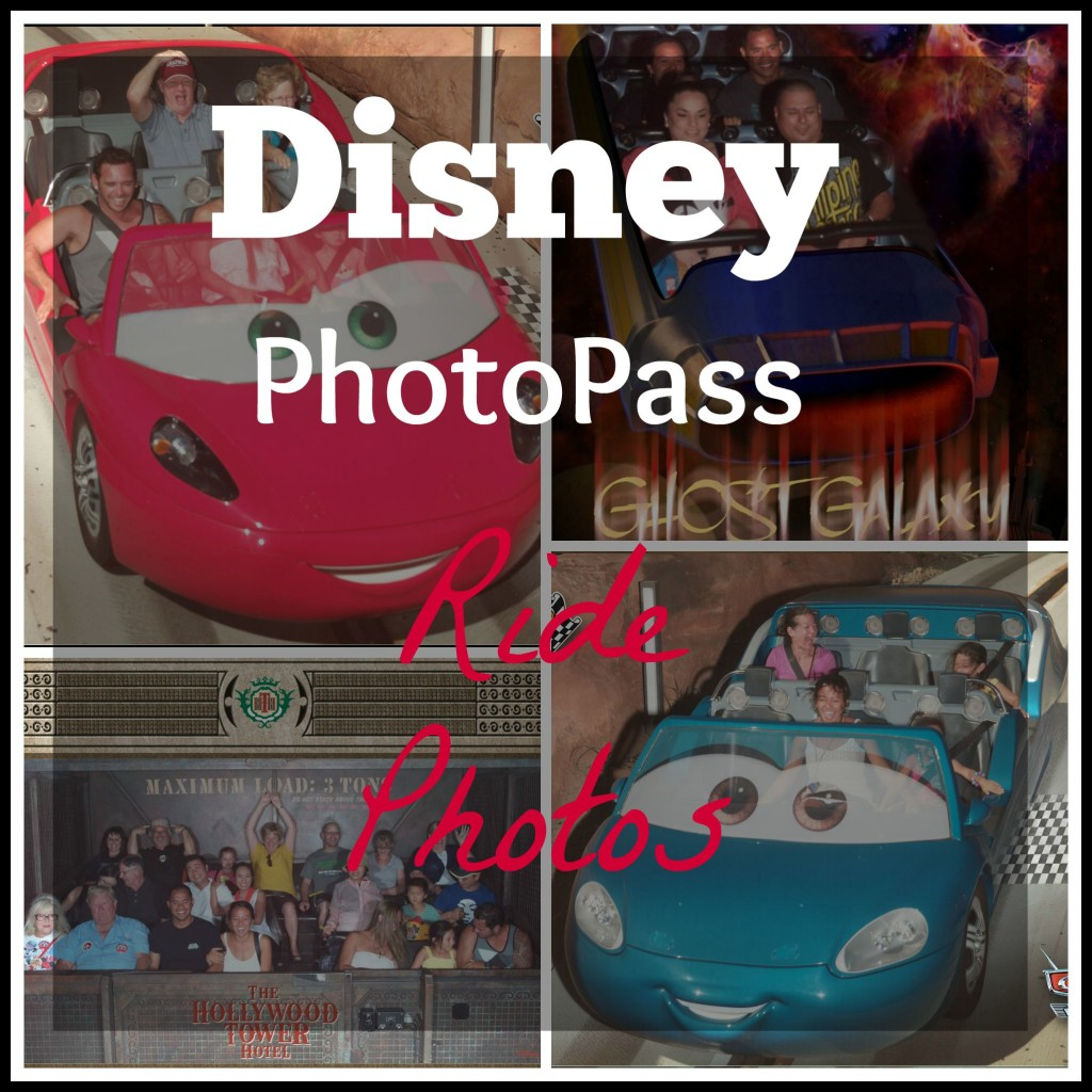 Disney PhotoPass Ride Photos