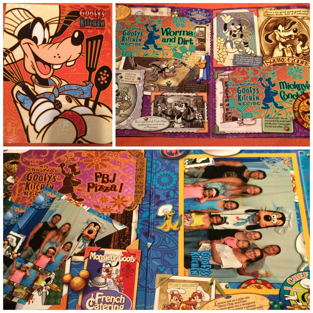 Goofy's Kitchen PhotosPass Memory Book
