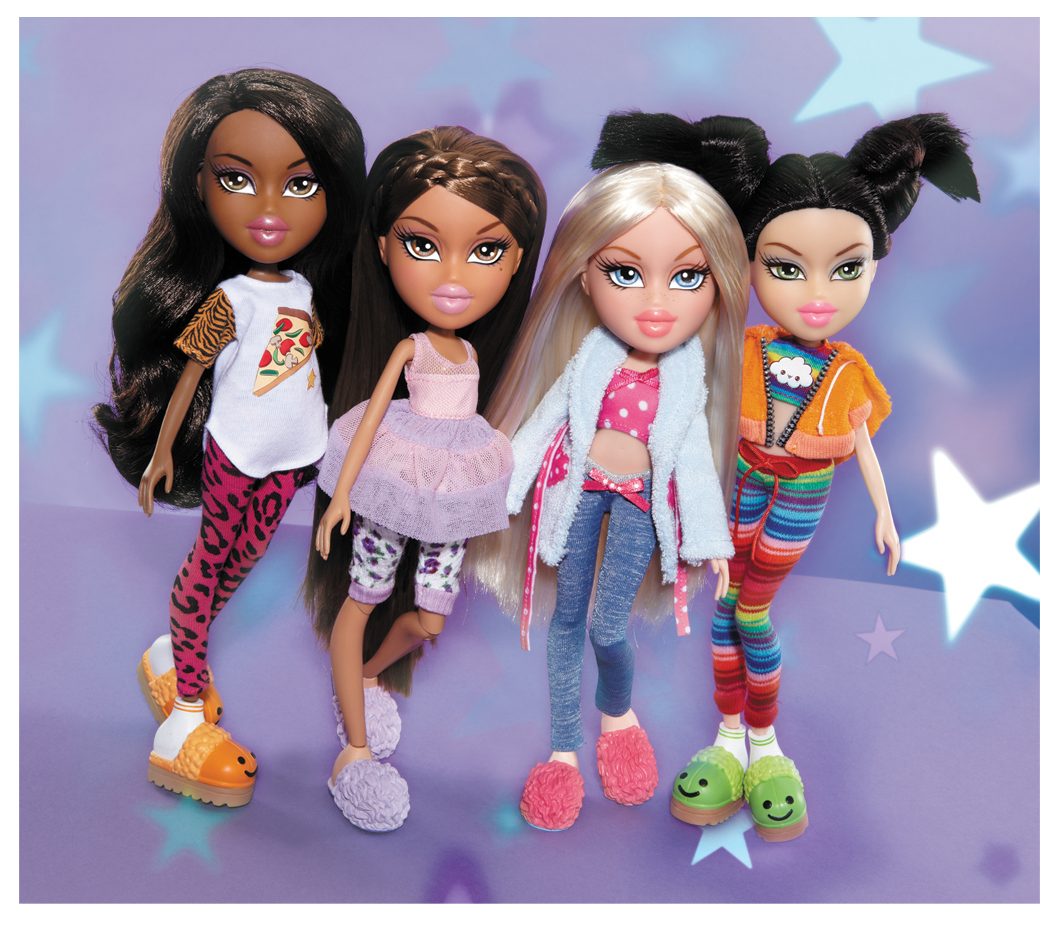 bratz dolls � sleepover party yasmin amp study abroad raya