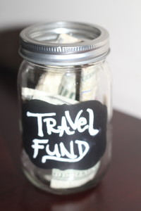 DIY Travel Fund Jar