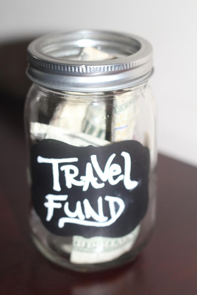 DIY Travel Fund Jar