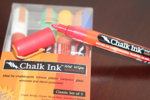 chalk ink wet wipes markers
