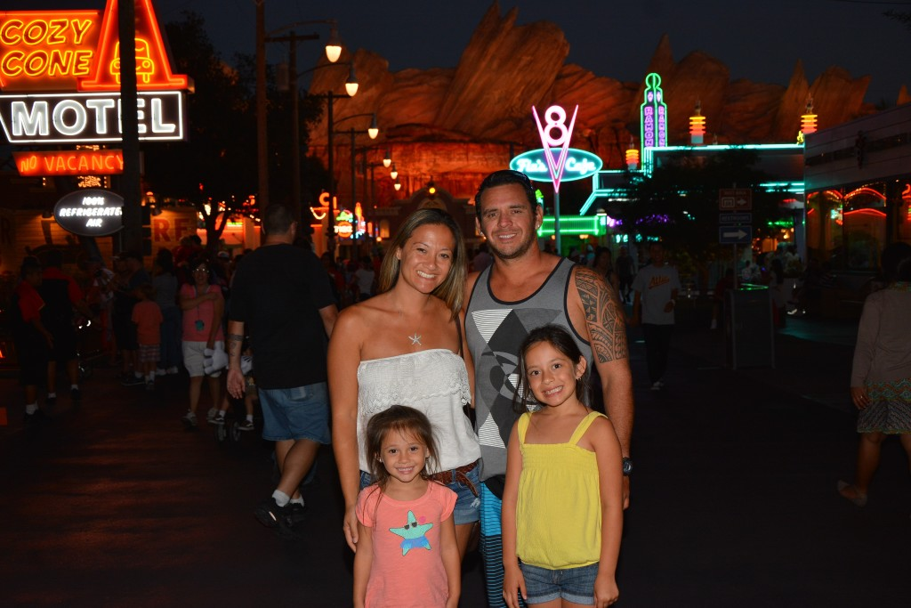 carsland photopass family photo