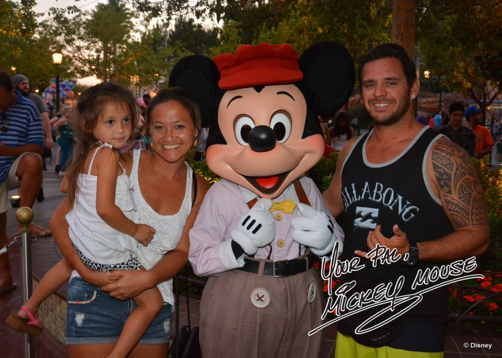 mickey mouse photopass picture