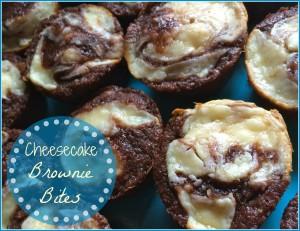 cheesecake brownie bites