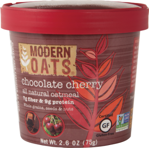 chocolate cherry modern oats