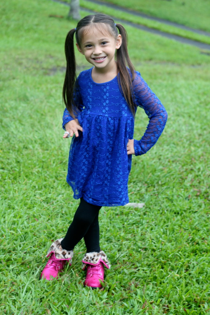 royal blue lace girls dress fabkids