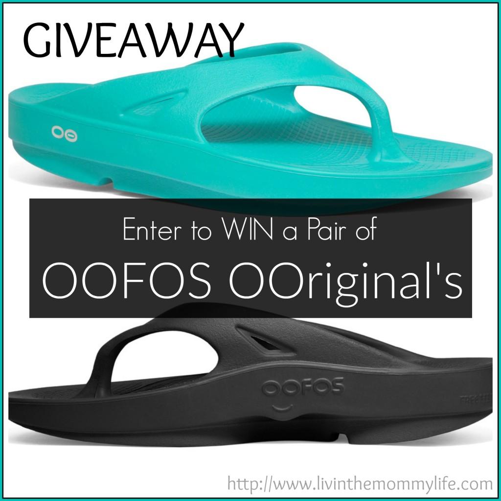 OOFOS OOriginal's Giveaway