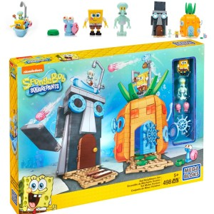 Spongebob Mega Bloks Bad Neighbours Set