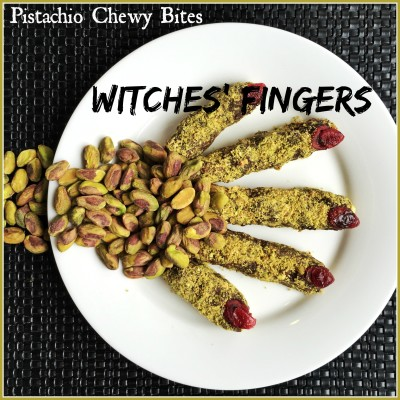 Pistachio Chewy Bite Witches' Fingers