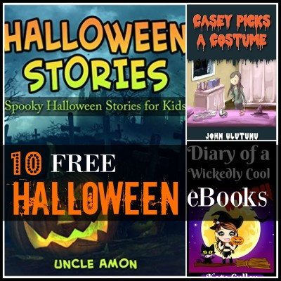 10 FREE Halloween Kindle Books for Kids