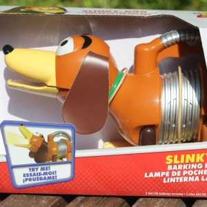slinky the dog braking flashlight