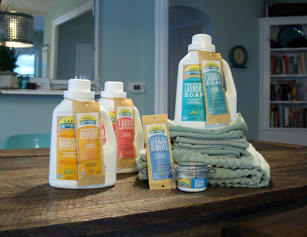 mygreenfills natural laundry products