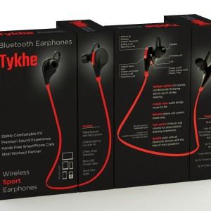 tykhe bluetooth wireless sport earphones