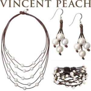 vincent peach pearl collection
