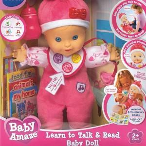 vtech baby amaze read & talk doll