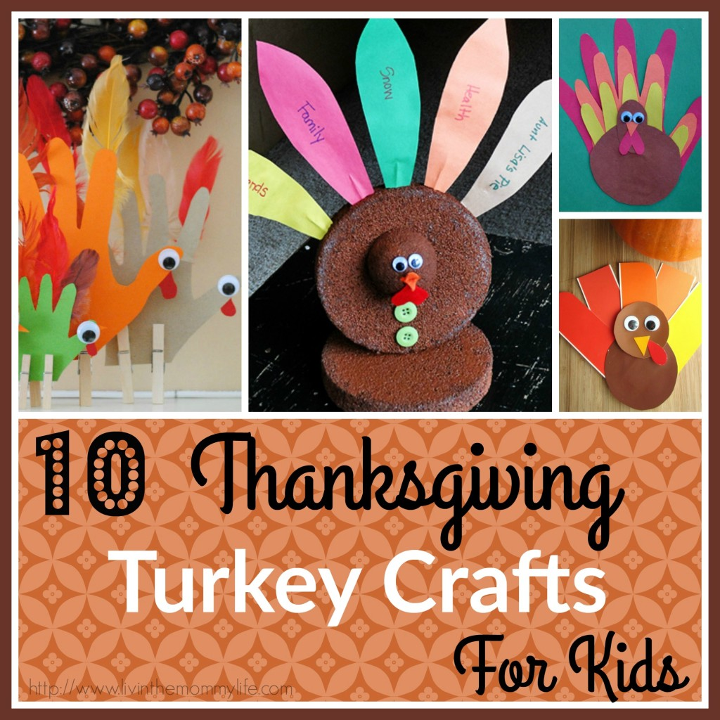 10 Thanksgiving Turkey Crafts for Kids