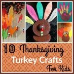 10 Fun Thanksgiving Turkey Crafts for Kids