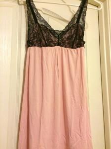 pink slip black lace adore me