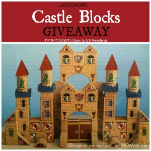 Lakeshore Castle Blocks Holiday Giveaway