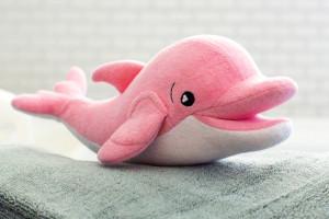 SoapSox Pink Ava Dolphin